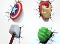 Smash These Superhero 3D Nightlights Into Your Wall