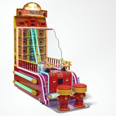 Genuine Water Blasting Fire Rescue Arcade Game