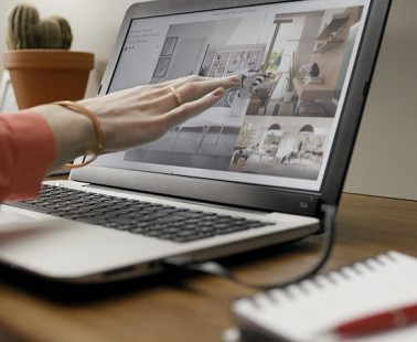The AirBar Turns Any Laptop Screen into a Touchscreen!