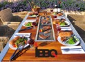 Epic Eight-Seater BBQ Table Makes For A Marvelous Experience