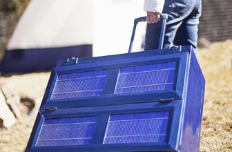 The Solar Powered Fridge That Will Run All Day, Charge Your Phone And Collapse Into A Briefcase