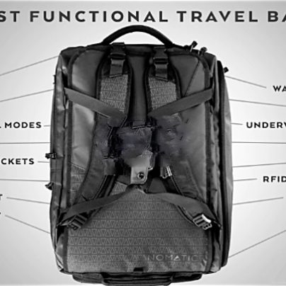 This Compact, Weatherproof Luggage System Is Smaller Than a Carry-On
