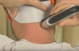 The Barber's Edge Helps You Cut Your Own Neckline Without the Use of a Mirror