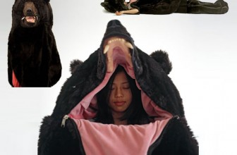 Humans can Hibernate with the Bears in this Creative Sleeping Bag