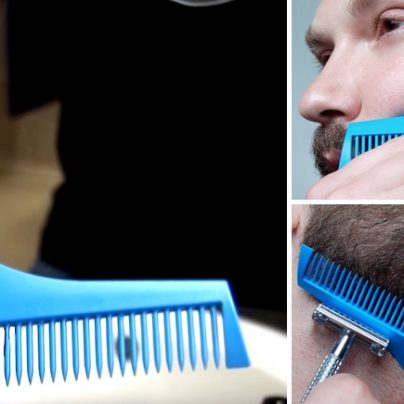 Groom Your Beard Precisely With This Handy Pocket-Size Tool