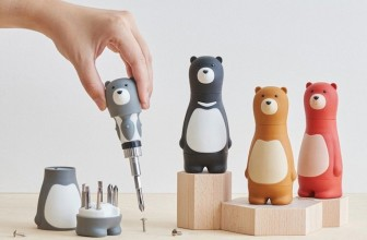The Cute And Useful 'Bear Papa' Ratchet Screwdriver
