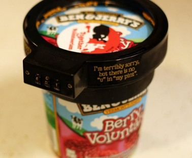 Ben & Jerry's Ice Cream Pint Lock