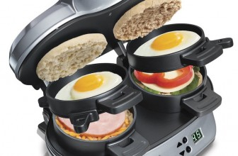 Enjoy Eternal Breakfasts Of Champions With This Dual Sandwich Maker
