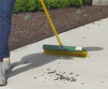 Renegade Broom is Perfect For Outdoor Landscaping and Clean-Up