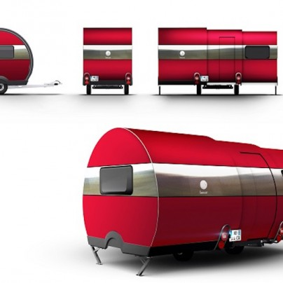 Transforming And Modern Camper Lets You Camp In Style