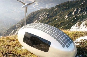 Portable Self-Sustaining, Off-grid Ecocapsule House