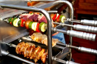 This Brazilian BBQ With Self-Rotating Skewers Will Have You Drooling