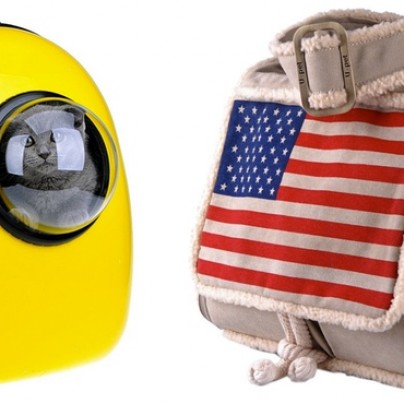 Send Your Kitty To Space Jail! Or Carry Him Around In This Pet Carrier