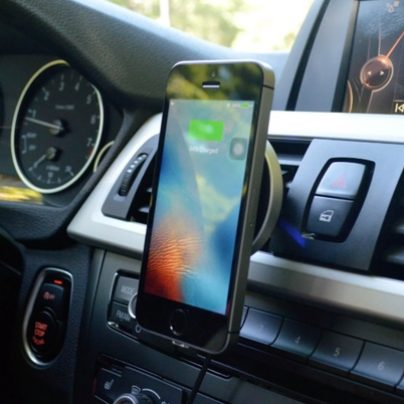 Charge Your Phone Without Any Cables with This Wireless Car Dock