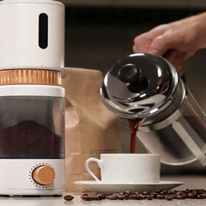 Smart Grinder Helps You Make an Ideal Cup of Coffee