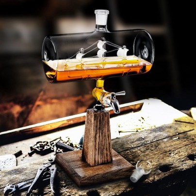 Raise The Mast And Raise A Glass To These Amazing Decanters