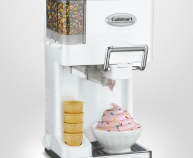 Make Premium Soft Ice Cream From Home With Cuisinart's Soft Serve Machine