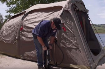 Set Up a Tent in Just 1 Minute with the Darche Air-Volution Tent