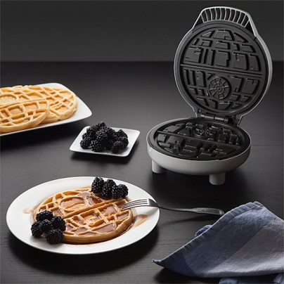 Join The Dark Side With The Star Wars Death Star Waffle Maker