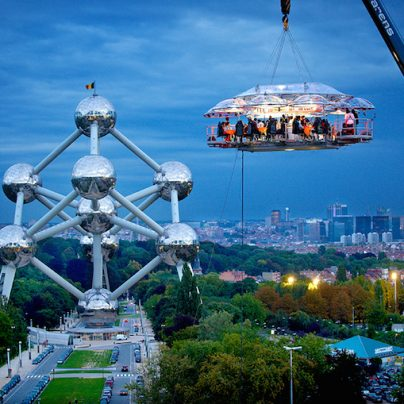 A Dinner Party For Those Who Aren't Afraid Of Heights