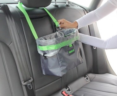 The DRIVE Bin Is The Best Auto Trash Bag For Long Road Trips With The Family