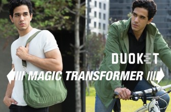 The DUOKET Transforms From A Bag To A Jacket In Seconds!