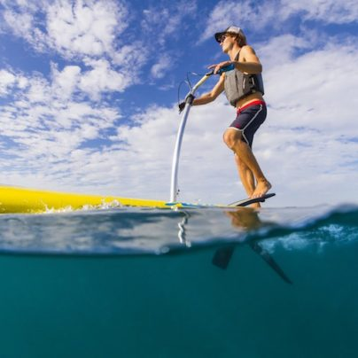 """This Stand-Up Pedal Board Lets You """"Walk on Water"""""""