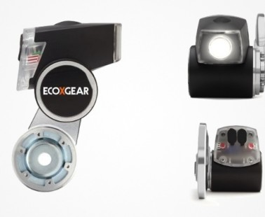 Dynamo Charging System & Bicycle Light by ECOXGEAR