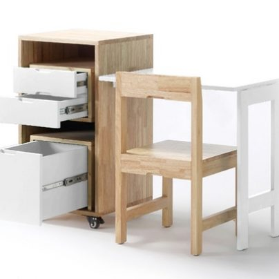 Get a Full-Size Office That Collapses to the Size of a Single Drawer