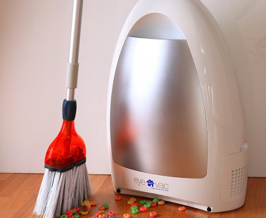 Let Your Broom and Vacuum Work Together With Eye-Vac
