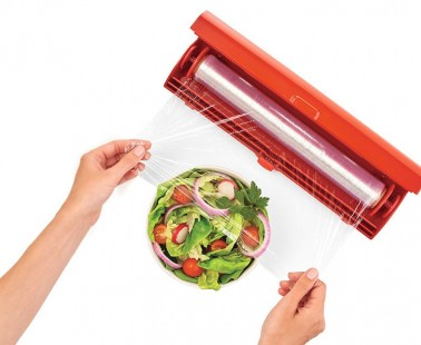 The Kuhn Rikon Fast Wrap Keeps Your Plastic Wrap Untangled and Hassle-Free