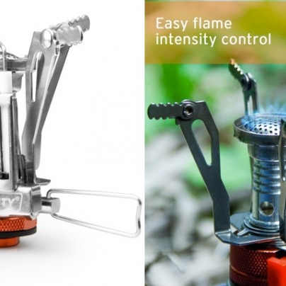 Ultralight Portable Camping Stove Will Make 'Roughing It' A Little Less Rough