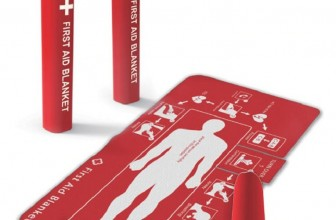 Someone Designed A First Aid Blanket That Even The Untrained Can Use