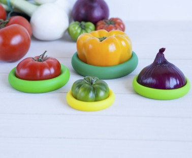 Seal In Your Food's Freshness With These Colorful Food Huggers