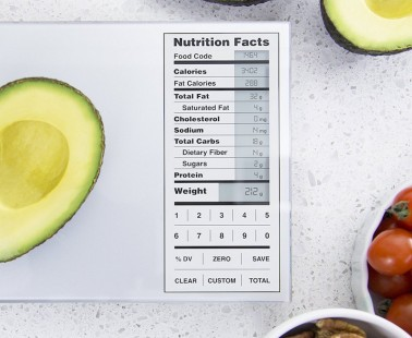 The Greater Goods Digital Scale Weighs Your Food and Calculates the Nutrition