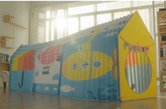 The Accordion Play House For Spaces Big And Small