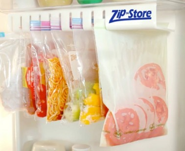 Zip n Store: Store All Your Food With This Compact and Efficient Storage System