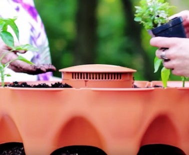 The Garden Tower 2 Lets You Grow Up to 50 Plants at Once!