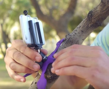The Gekkopod Is a Multi-Functional Flexible Mount That Will Mount Your Phone or Camera Anywhere