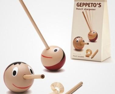 Cute Pinocchio Geppeto's Pencil Sharpener