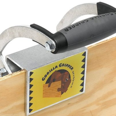 The Gorilla Gripper Lets You Carry Wood and Drywall Panels with Next to No Effort