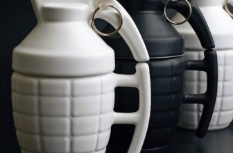Pull The Pin On Bad Mornings With The Grenade Mug