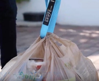 Grocery Gripps: Carry All Your Grocery Bags at Once with These Handy Straps!