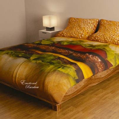 This Bedding Set Will Make Your Mouth Water