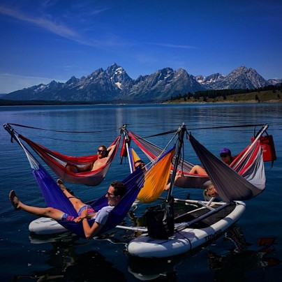 Hammocraft: The All-In-One Hammock And Paddle Boat