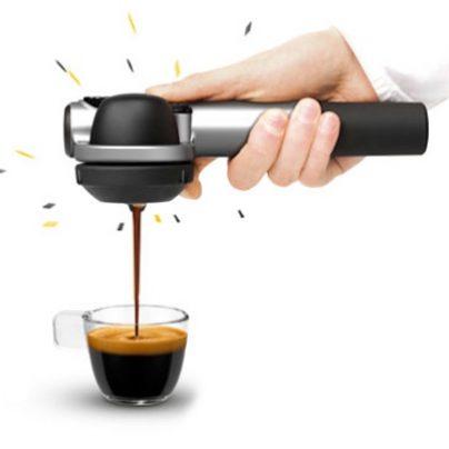 Hand Press Your Espresso in Seconds