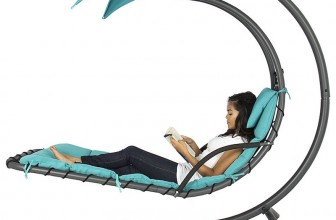 The Best Choice Hanging Chaise Lounger Is the Ultimate Backyard Comfort Solution