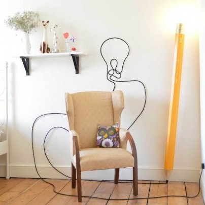 The HB Pencil Lamp