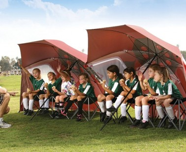 The Massive Umbrella That Will Shelter You From Sun And Hectic Weather