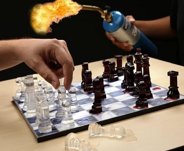 Speed Chess You Don't Need A Timer For – Your Pieces Will Just Melt